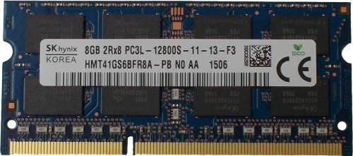 Ram Laptop Hynix 8GB PC3L Cũ